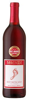 Barefoot Cellars California Red Moscato
