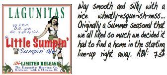 Lagunitas Little Sumpin Ale