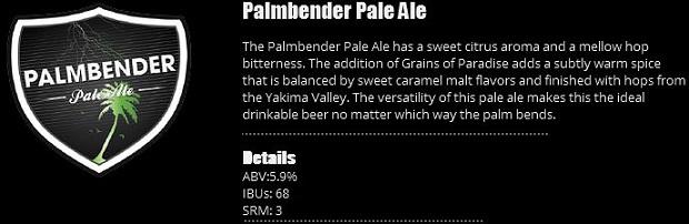 Palmbender Pale Ale