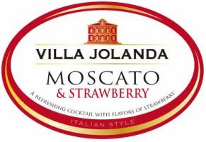 Villa Jolanda Moscato Strawberry