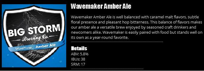 WaveMaker Amber Ale