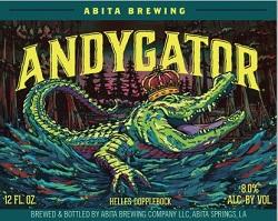 Abita Brewing Andygator
