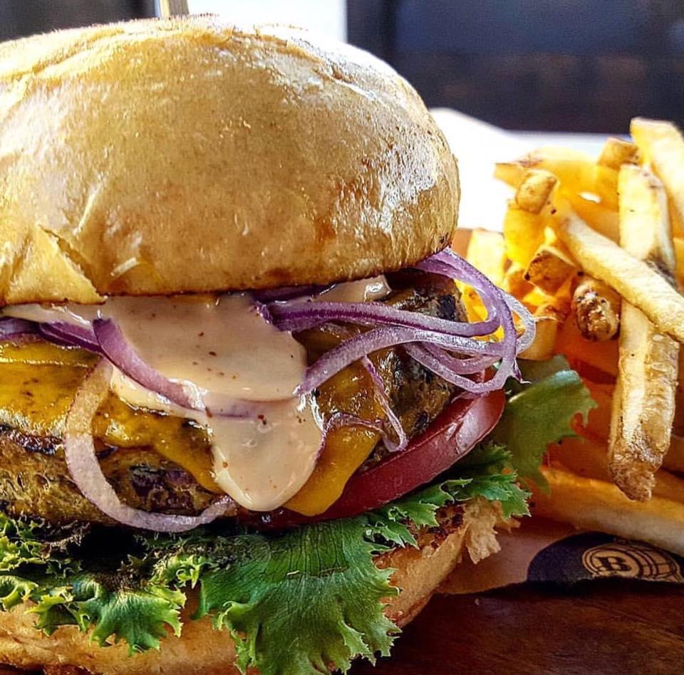 Batch Gastropub Veggie Burger