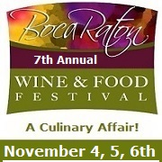 Boca Raton Wine and Food Festival 2016