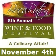 Boca Raton Wine and Food Festival 2017