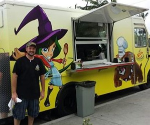 Dawgs and Witches food truck